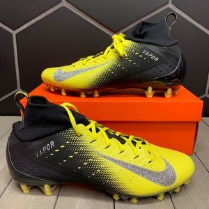 Nike Vapor Untouchable Pro 3 Football Cleat Yellow